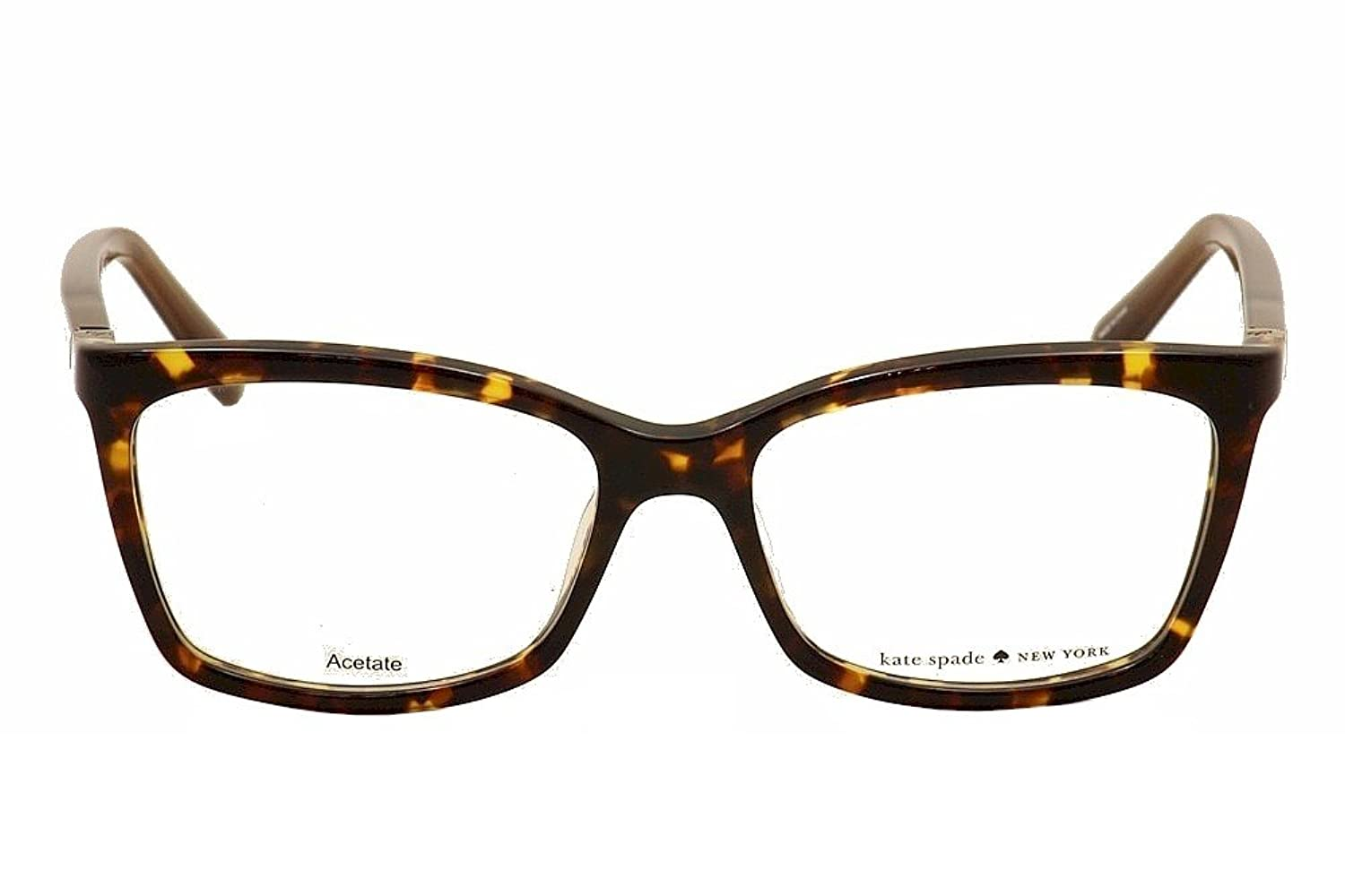 Eyeglasses Kate Spade Cortina 0RRW Havana Brown at Amazon Men\'s ...