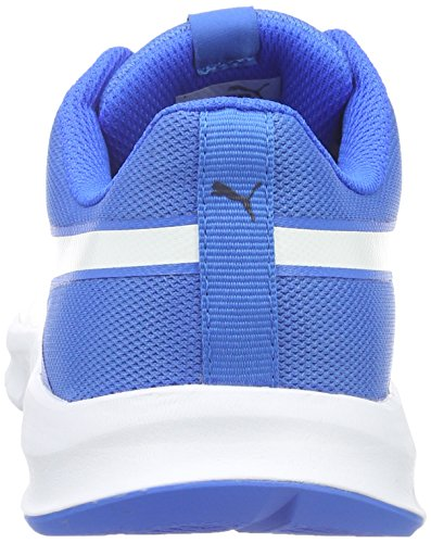 Puma Flexracer, Baskets Basses Mixte Adulte Blau (Electric Blue lemonade-puma White 14)