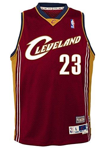 (LeBron James Cleveland Cavaliers Youth NBA Soul Swingman Jersey - Maroon , Youth)