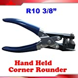 R10 3/8'' Corner Rounder all steel Hand Hold business card punch heavy duty