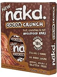 Nakd Bars Nakd Cocoa Crunch Raw Fruit, Nut & Oat 30G (16 Bars)