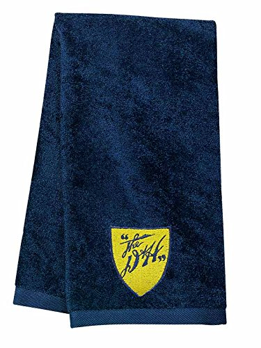 D&H Railway Embroidered Hand Towel Navy [34]