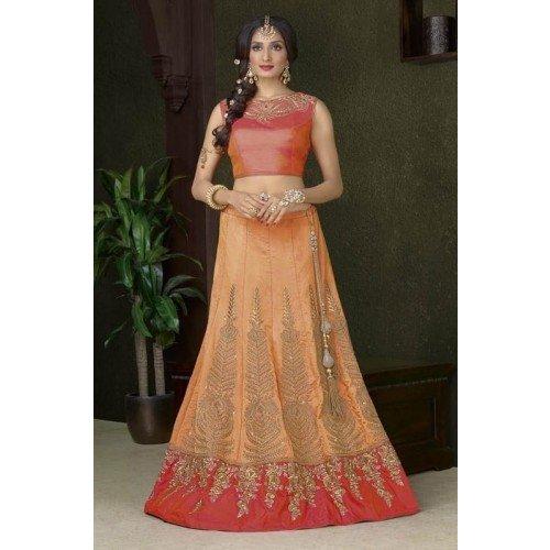 Dupatta nuziale Personalizzato indiana 2790 per misurare Kameez EMPORIUM da cerimonia sposa da donna ETNICO Choli Salwar abito tradizionale Lehenga Anarkali la etnica seta abito 46UIwq