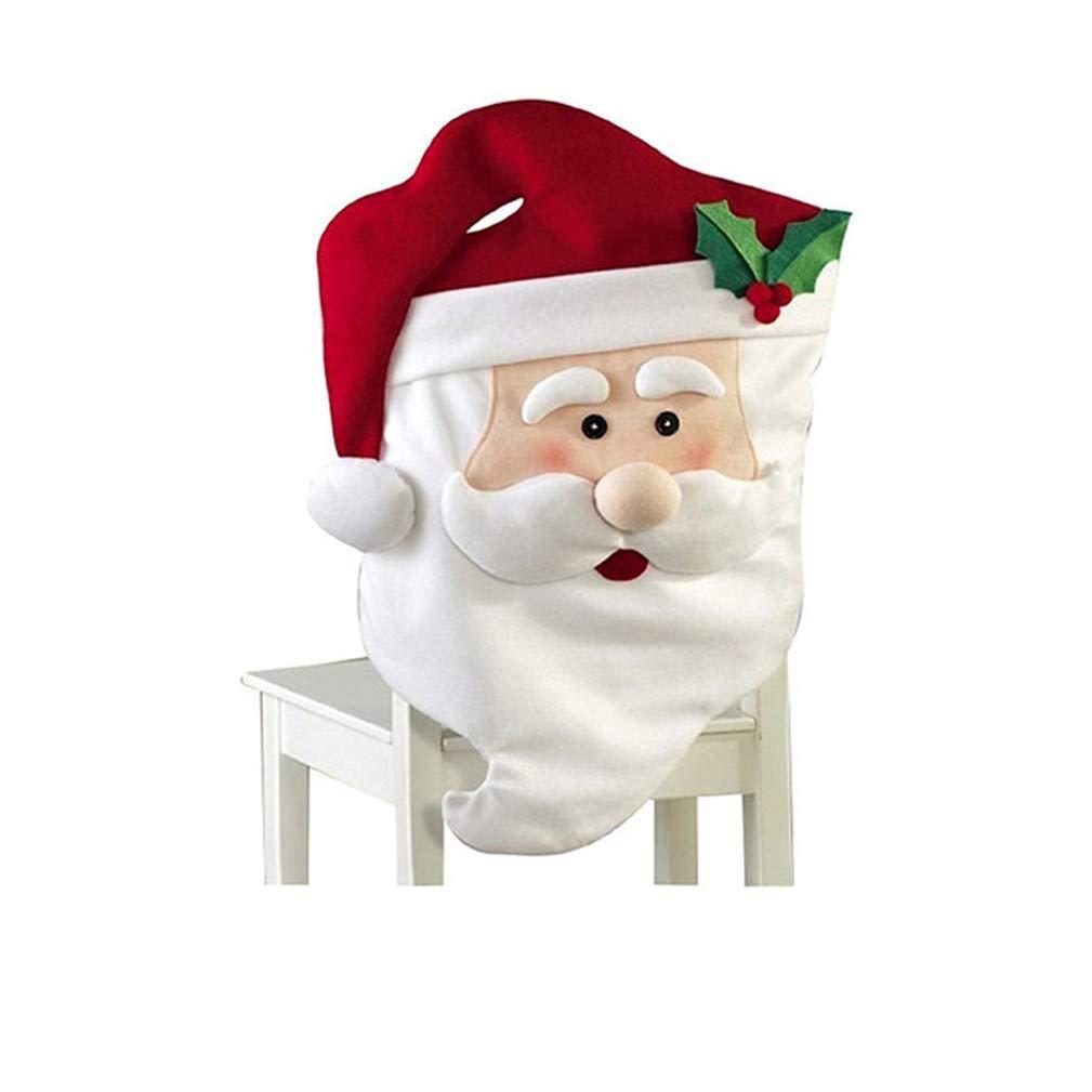 Kfnire Mr & Mrs creativo di Santa Tavolo da Pranzo Decor decorazioni natalizie (Mrs)