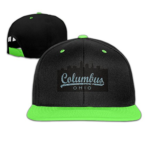 skyline-columbus-ohio-kids-adjustable-snapback-hat-baseball-caps