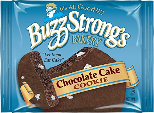 Buzz Strong's 1.5 Oz Whole Grain Chocolate Cake Cookie, Case of 60