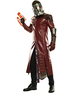 Guardians Of The Galaxy Marvel Deluxe Star-Lord Adult Costume 42 ...