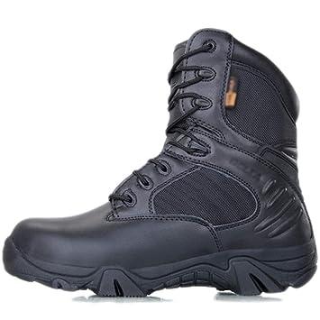 Zapatos De Combate para Hombre del Top del Alto Delta Botas Militares Fuerzas Especiales del Ejército