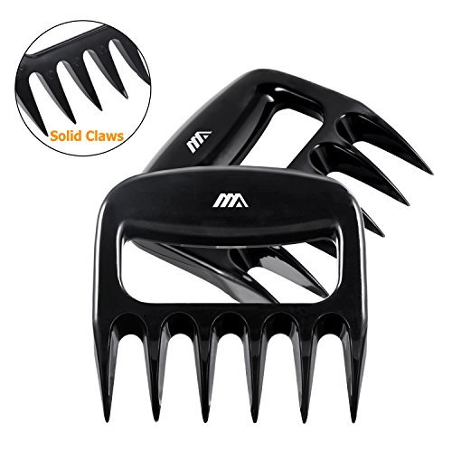 Meat Claws, iHomy Bear Paws Meat Shredder Heat-Resistant BBQ Accessories For Pork Pulling-Easily Lift, Handle, Shred, Cut Meats& Wash
