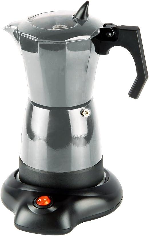 BN Houseware 3275 - Cafetera eléctrica de 6 tazas con base ...