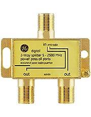 GE 87623 2-Way 5Mhz to 2.3Ghz Digital Splitter