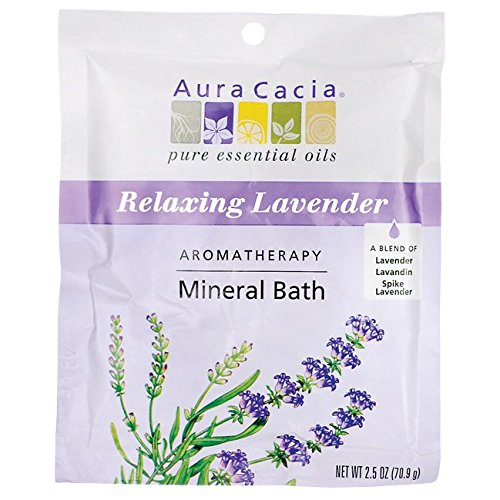 Aura Cacia Aromatherapy Mineral Baths - Lavendar Harvest - 2.5 oz - 0 ct - 0 pk