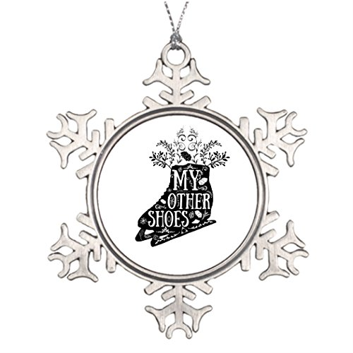 [Eryoubs Ideas For Decorating Christmas Trees Figure Skate Star Snowflake Ornament] (Figure Skating Halloween Costumes)