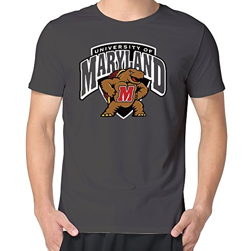 100% Cotton Men's Maryland Terrapins Shield T Shirts