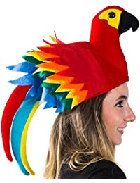 b370bbe9e52dd Parrot Hat - Parrot Hats Jimmy Buffet - Novelty Hat - Parrot Head Hat -  Animal
