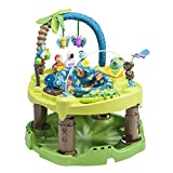 Evenflo ExerSaucer Triple Fun Entertainer Playstation Activity Baby Walker, Life In The Amazon