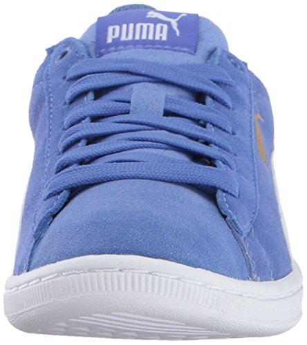 Puma Kvinna Vikky Sneaker Baja Blå-puma Vitt