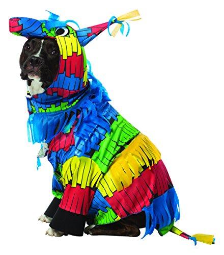 Rasta Imposta Pinata Dog Costume, XX-Large