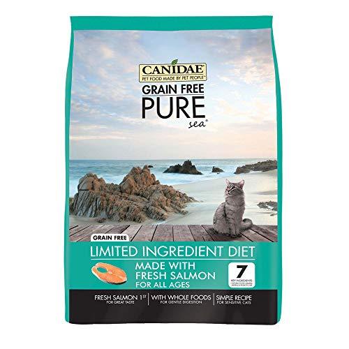 Canidae Grain Free Pure Sea Cat Dry Formula With Fresh Salmon, 10 Lbs ()