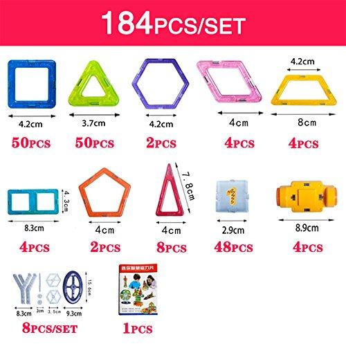 New 110pcs Mini Magnetic Designer Construction Set Model & Building Toy Plastic Magnetic Blocks Educational Toys For Kids Gift - Designer A-z List Brands