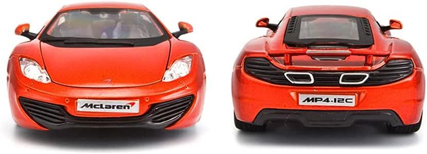 Zfggd 1:24 Fundido a Troquel McLaren MP4-12C Modelo de aleación de ...