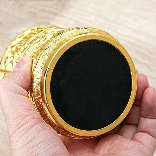葉巻灰皿, 、サイズ:F、カラー:F:欧州の亜鉛合金灰皿は、大規模な合金3Dは合金灰皿(6オプション)(A色)を彫 (Color : B, Size : B)