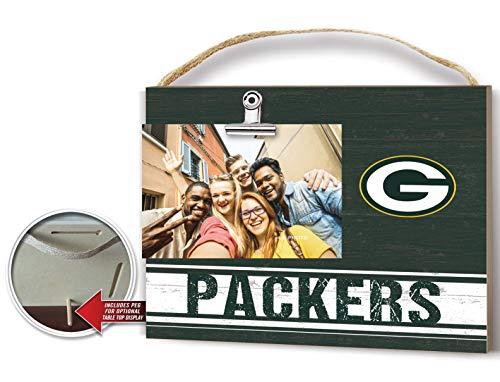 Sports Fan Picture Frame - KH Sports Fan Clip It Colored Logo Photo Frame Green Bay Packers