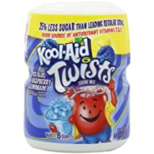 Kool-Aid Drink Mix, Sugar Sweetened Ice Blue Raspberry Lemonade Soft Drink Mix, 20-Ounce Containers (Pack of 6) by Kool-Aid