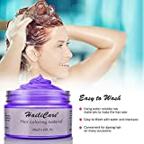 Purple Temporary Hair Dye Wax 4.23 oz, HailiCare