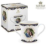 Royal Heritage - Designed in England LP18073 Commemorative Wedding Mug Gift, White