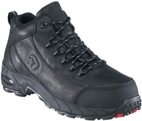 Converse Men's Steel Toe Waterproof Hikers, Black, 7.5EE