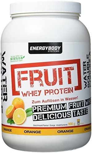 Energybody Fruit Whey Protein Fruity Orange, 908 g