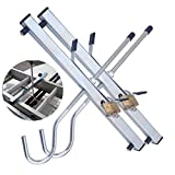Universal Ladder Clamp Roof Rack Secure Lockable Clamps, Securely Transport Your Ladders