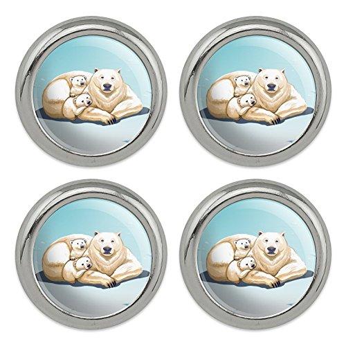 polar bear resin charm - 9