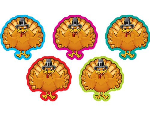 (Teacher Created Resources Turkeys Mini Accents)