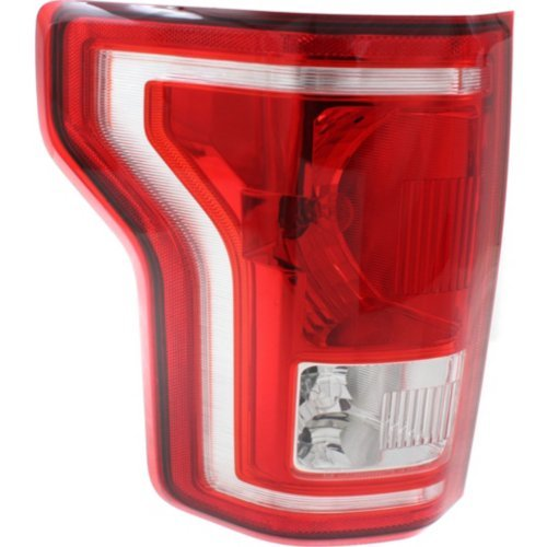CAPA Tail Light Compatible with CHEVROLET COLORADO 2015-2017 RH Assembly