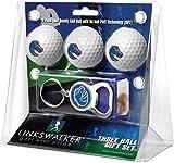 LinksWalker NCAA Boise State Broncos - 3 Ball Gift Pack with Key Chain Bottle Opener