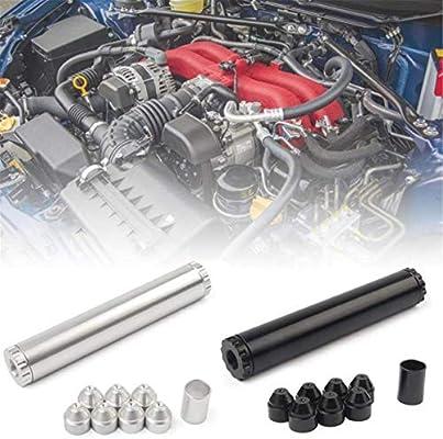 Gugutogo Aleaci/ón de aluminio 1//2-28 o 5//8-24 Trampa de filtro de combustible para autom/óvil//Filtro de solvente 1X7 o 1X13 Trampa de solvente para autom/óvil PARA NAPA 4003 WIX 24003
