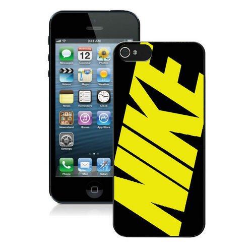 pvmeche Just Do it Nike logo image Custom iphone 5 5S SE TPU Individualized Hard Case black rob style che18013g