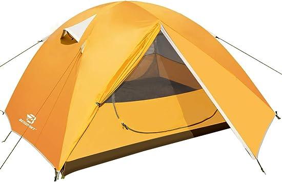 Bessport Tienda de Campaña 3 Personas Tienda de Camping ...