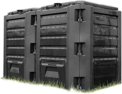 Hagebau - Markt, compostador » 800 l «: Amazon.es: Jardín