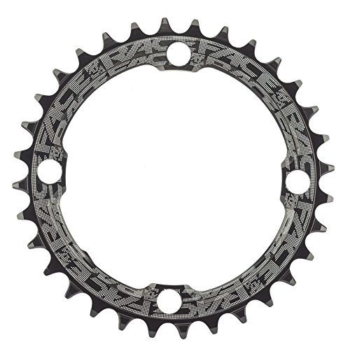 Race Face, Narrow Wide 104Mm BCD, 32T Chainring, 9-12sp, BCD: 104, 7075-T6 Aluminum, Black