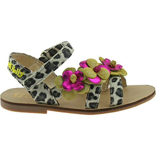 Lelli Kelly LK7462 (AX66) Multi Yellow Chantal Sandals-28 (UK 10)