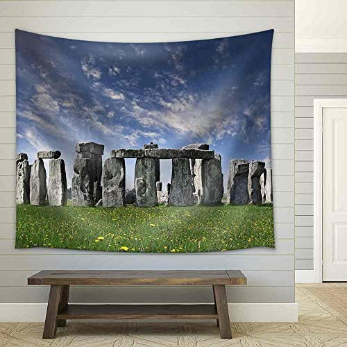 Mysterious Stonehenge in UK Fabric Wall