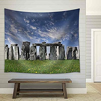 Delightful Piece of Art, Mysterious Stonehenge in UK Fabric Wall, Top Quality Design