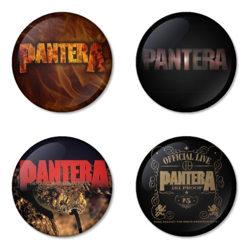 PANTERA round badges 1.75
