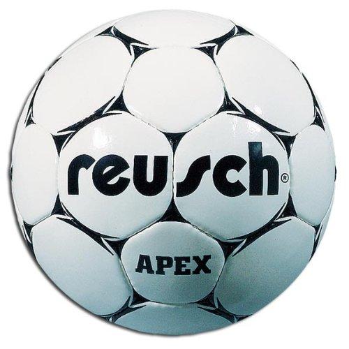 Reusch 1475502 Apex Soccer Ball (White/Black - Size 5)