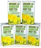Tè alla Radice di Tarassaco - Digestivo Organico Grezzo Ricco di Vitamine - 5 Confezioni (100 Bustine da 2 grammi l'una)