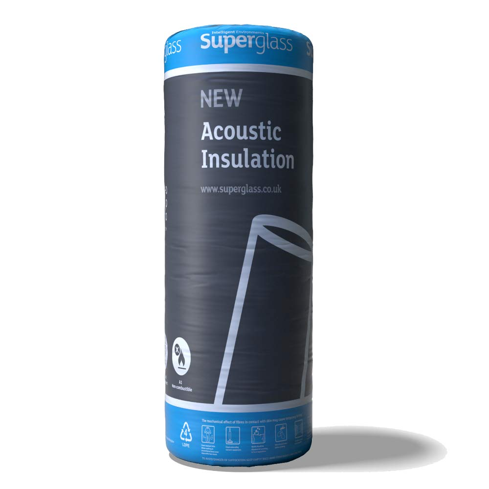 Superglass Multi Acoustic Roll Insulation - 1200mm x 11.2m x 60mm