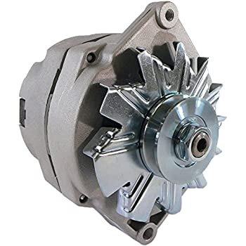 db electrical adr0152 alternator for 1 wire universal self-excited 10si 10  si 63 amp/internal regulator/negative polarity/external fan / 10459509,